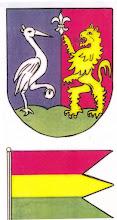 Photo: Javaslat a címerre és zászlóra. Nem fogadták el.