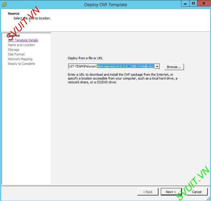 Deploy MCU Polycom RMX Virtual Edition (2)
