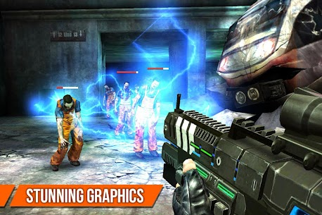 DEAD TARGET Zombie Shooting Money Mod APK 4