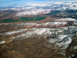 Photo: Looking back at the Bighorn range