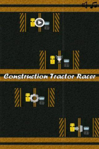 Construction Tractor Racer