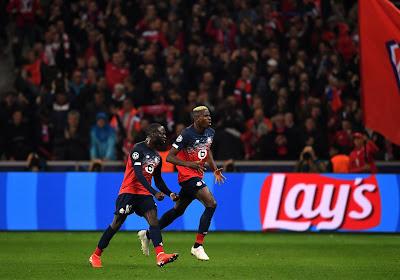 Lille s'impose à Lyon, Osimhen à l'assist