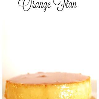 Orange Flan.