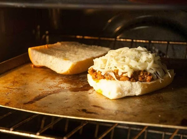 Place in the oven, and broil until the cheese begins to bubble and brown,...