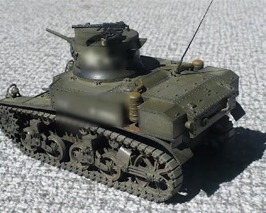 Wallpapers Tank M3 Stuart US - náhled