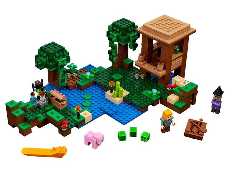 Contenido de Lego® 21133 Cabaña de la Bruja