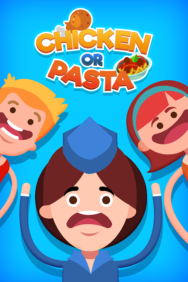 Chicken or Pasta - The Impossible Game- screenshot
