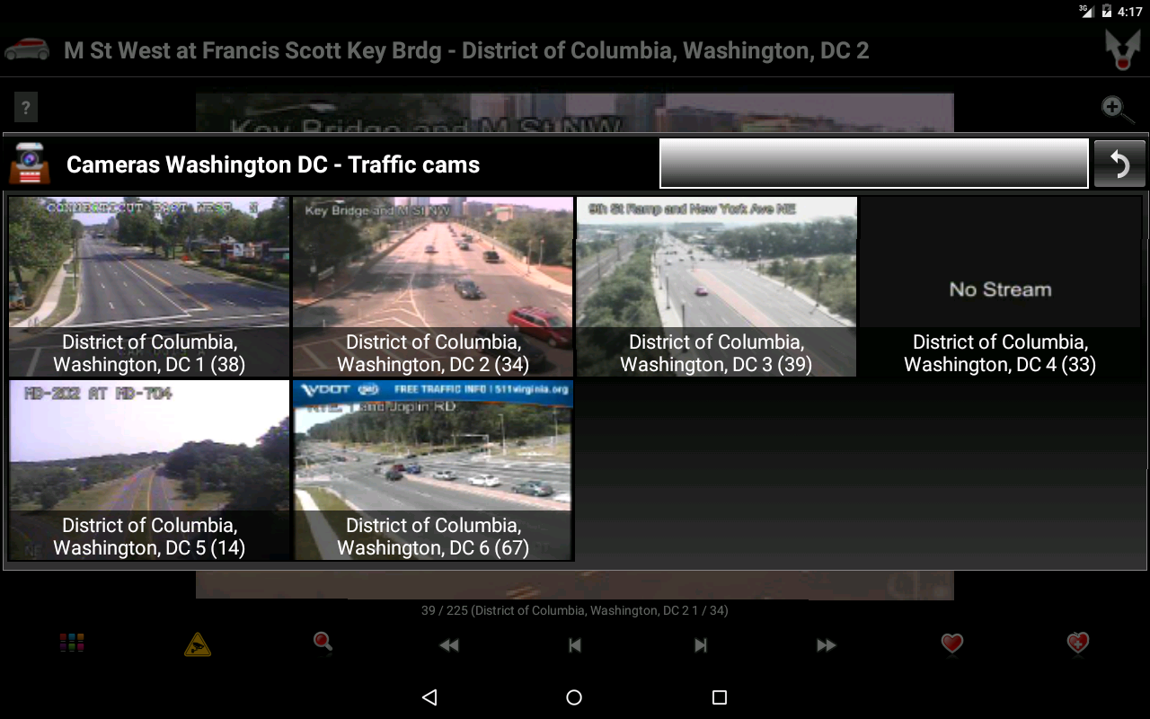 Cameras Washington DC Traffic Android Apps On Google Play - Washington dc traffic map