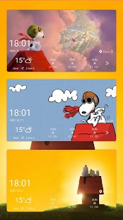 Snoopy Weather Radar Widget-Forecast&Radar Monster - náhled