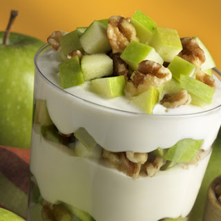 Apple & Walnut Yogurt Parfait.