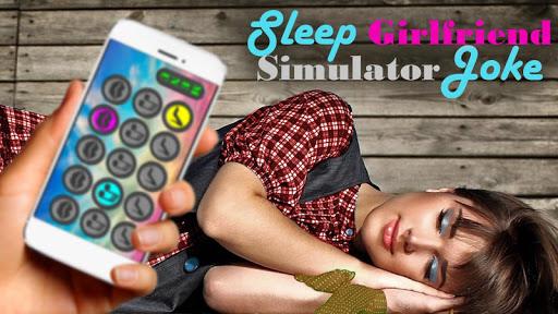 睡眠ガールフレンドシミュレータジョーク