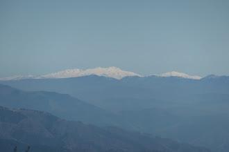 白山がよく見え