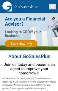 GoSalesPlus- Insurance Partner's App Download For Android 1