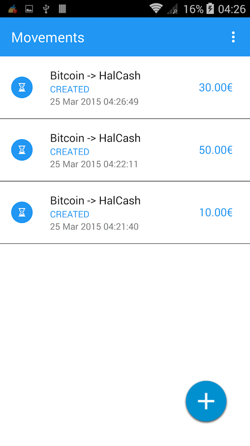 Bitcoin Chip Chap - Euro Cash- screenshot