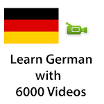 Learn German with 6000 Videos Icon