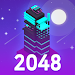 Midnight in Museum 2048 Merge icon