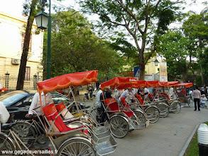 Photo: #009-Tour de la vieille ville d'Hanoi en cyclo-pousse