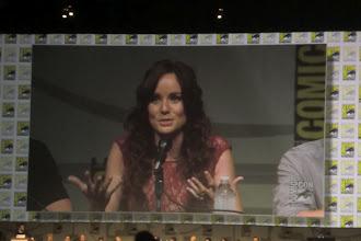 Photo: Friday - The Walking Dead panel; star Sarah Wayne Callies