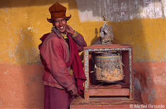 Photo: moulin à prière