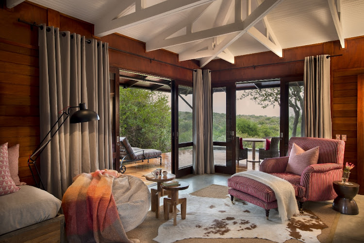 Kwandwe Private Game Reserve, Ecca Lodge.