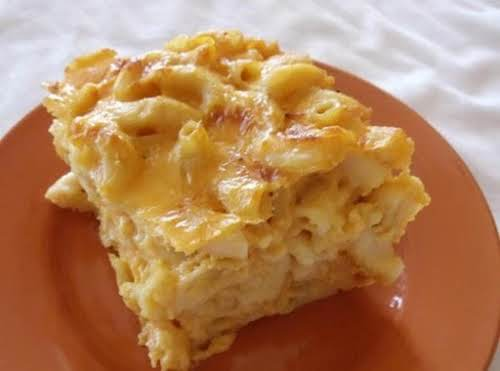 """Click Here for Recipe: Ooey Gooey Mac and Cheese """"This baked mac..."""