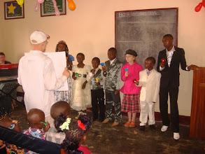 Photo: The children's hand bell choir