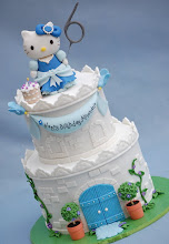 Photo: Hello Kitty Castle by @Royal Bakery (3/27/2012) View cake details here: http://cakesdecor.com/cakes/10375
