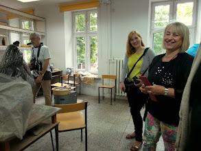 Photo: Od prawej Marta Zajączyńska- Kowalska, Anna Gorawska, Jerzy Pustelnik