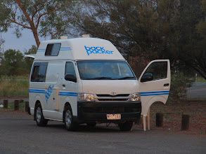 Photo: Year 2 Day 217 - Stopped for the Night (20Kms North of Ti Tree)