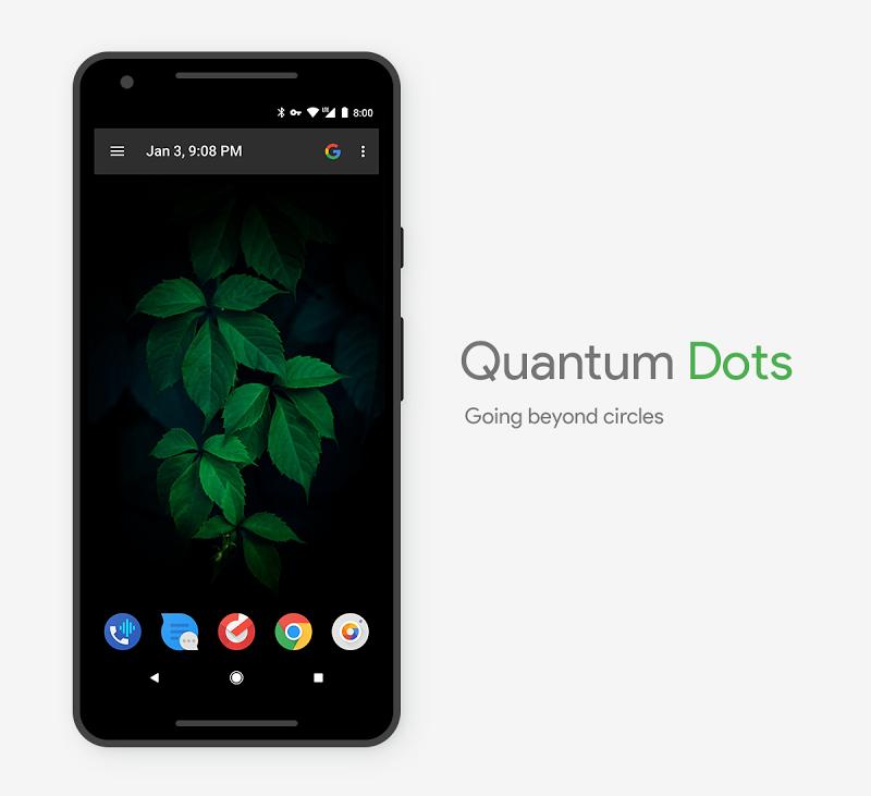 Quantum Dots - Icon Pack Screenshot 2