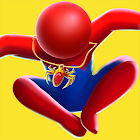 3D Fighting Games: Stick Super Hero