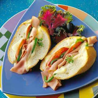 Hot Grinder Sandwich.