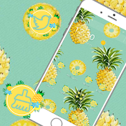 Delicious More Pineapple Theme