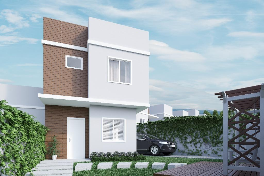 Sobrado residencial à venda, Thomaz Coelho, Araucária.