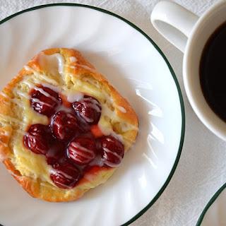 Cherry Cheese Danishes Recipe