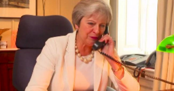 PM Theresa May makes This Morning cameo for its 30th birthday