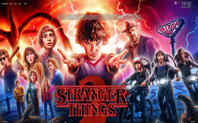 Dustin Stranger Things Wallpapers New Tab