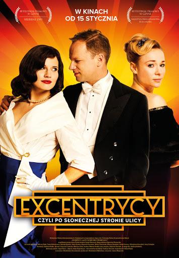 Przód ulotki filmu 'Excentrycy'