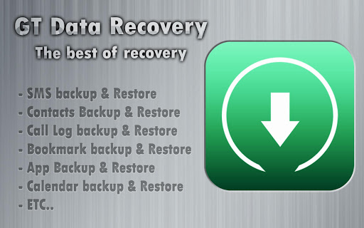 GT Data Recovery no Root