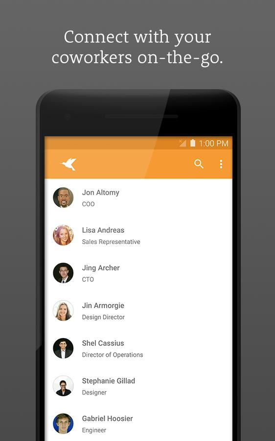 Zenefits- screenshot