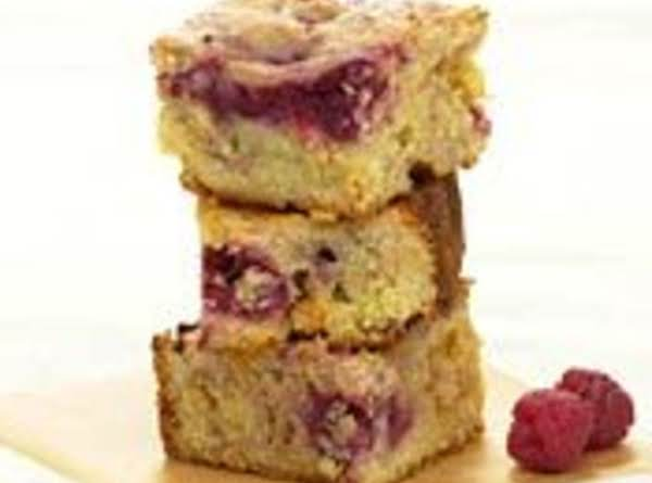 Raspberry White Chocolate Brownies Recipe