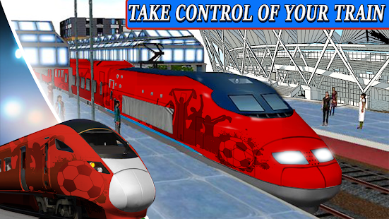 Moscow Tourist Train Screenshot