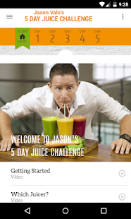 Jason's 5-Day Juice Challenge- screenshot thumbnail