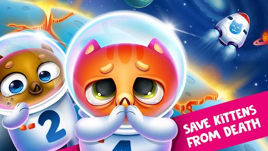 Espacio Gato Evolución: Kitty recogida en  galaxia Mod