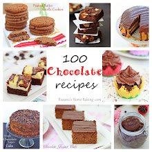 Photo: If you're looking for a chocolate recipe I've got you covered. 100 chocolate recipes from 100 food bloggers. There's something for everyone! http://www.roxanashomebaking.com/100-chocolate-recipes/
