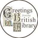 Logo of Greetings from the British Library