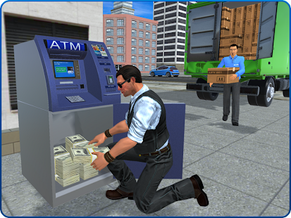 Bank Cash-in-transit Security Van Simulator 2018