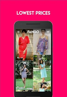 Fango Online Shopping App- screenshot thumbnail