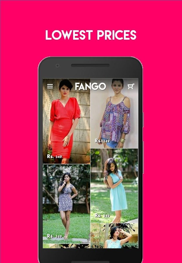 Fango Online Shopping App- screenshot