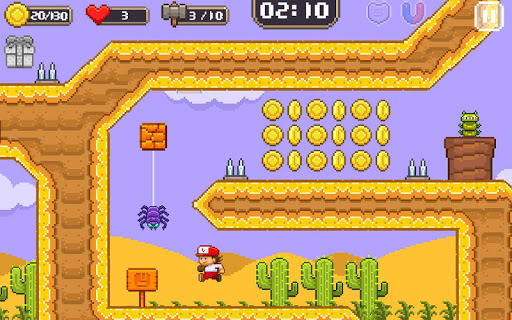 Super Jim Jump - pixel 3d 3.5.5002 Screenshots 11